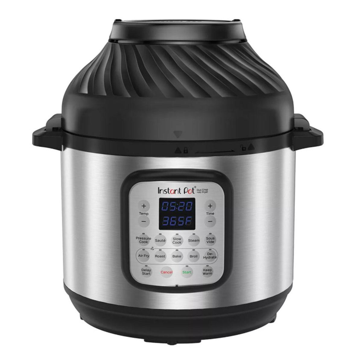 Instant Pot DUO CRISP + AIR FRYER | Уред за готвене под налягане