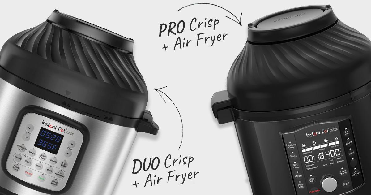 Каква е разликата между DUO CRISP и PRO CRISP?