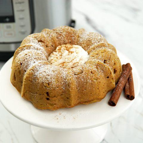 Инстант Пот   Рецепта за Ароматен кекс с тиква