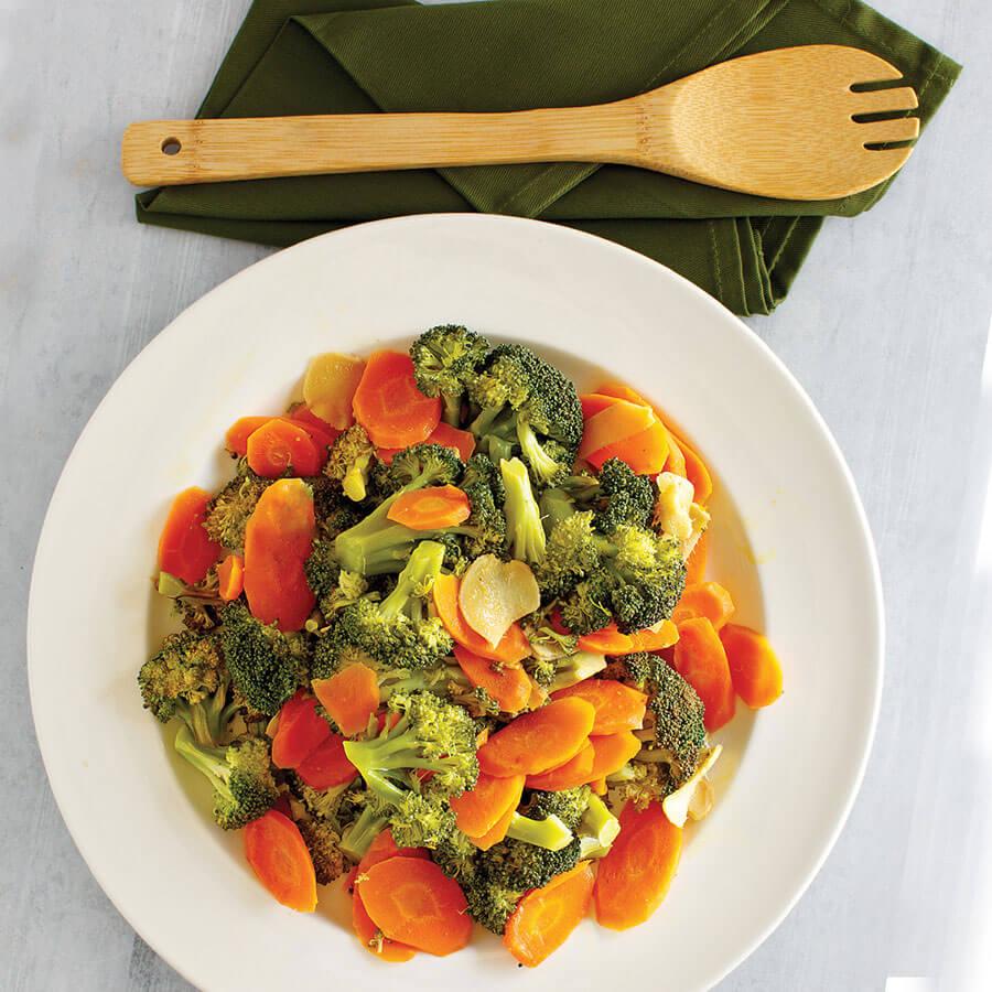 Инстант Пот | Рецепта за Броколи и моркови с лимон и джинджифил