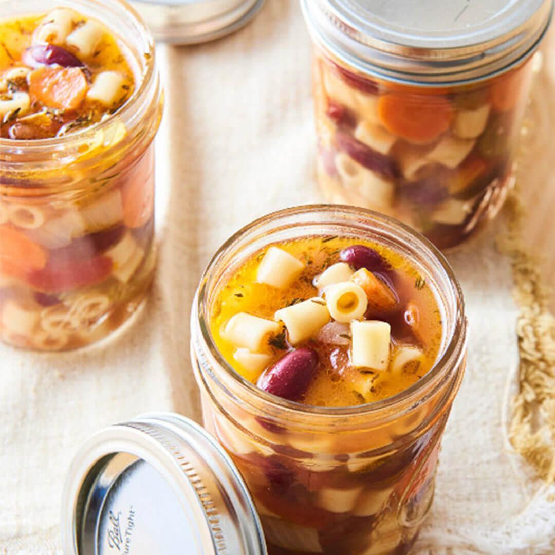 Инстант Пот | Рецепта за Зеленчукова супа минестроне с паста