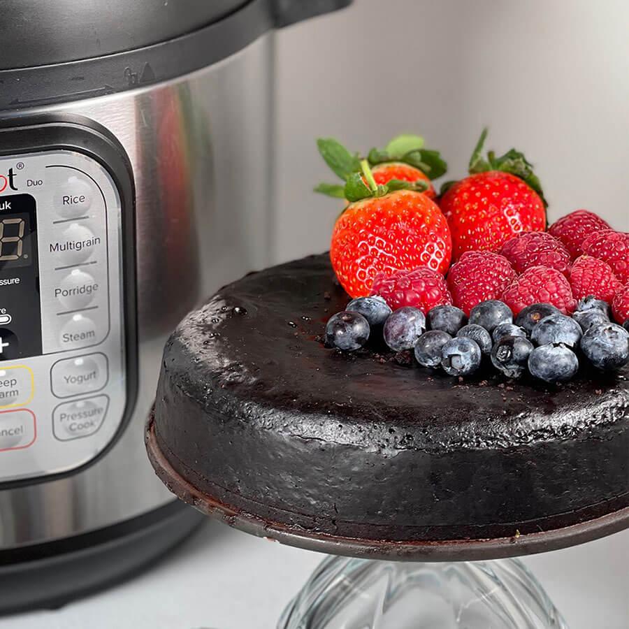 Инстант Пот | Рецепта за Веган шоколадов кейк