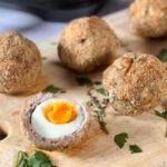 Инстант Вортекс | Рецепта за Яйца по шотландски в Air Fryer
